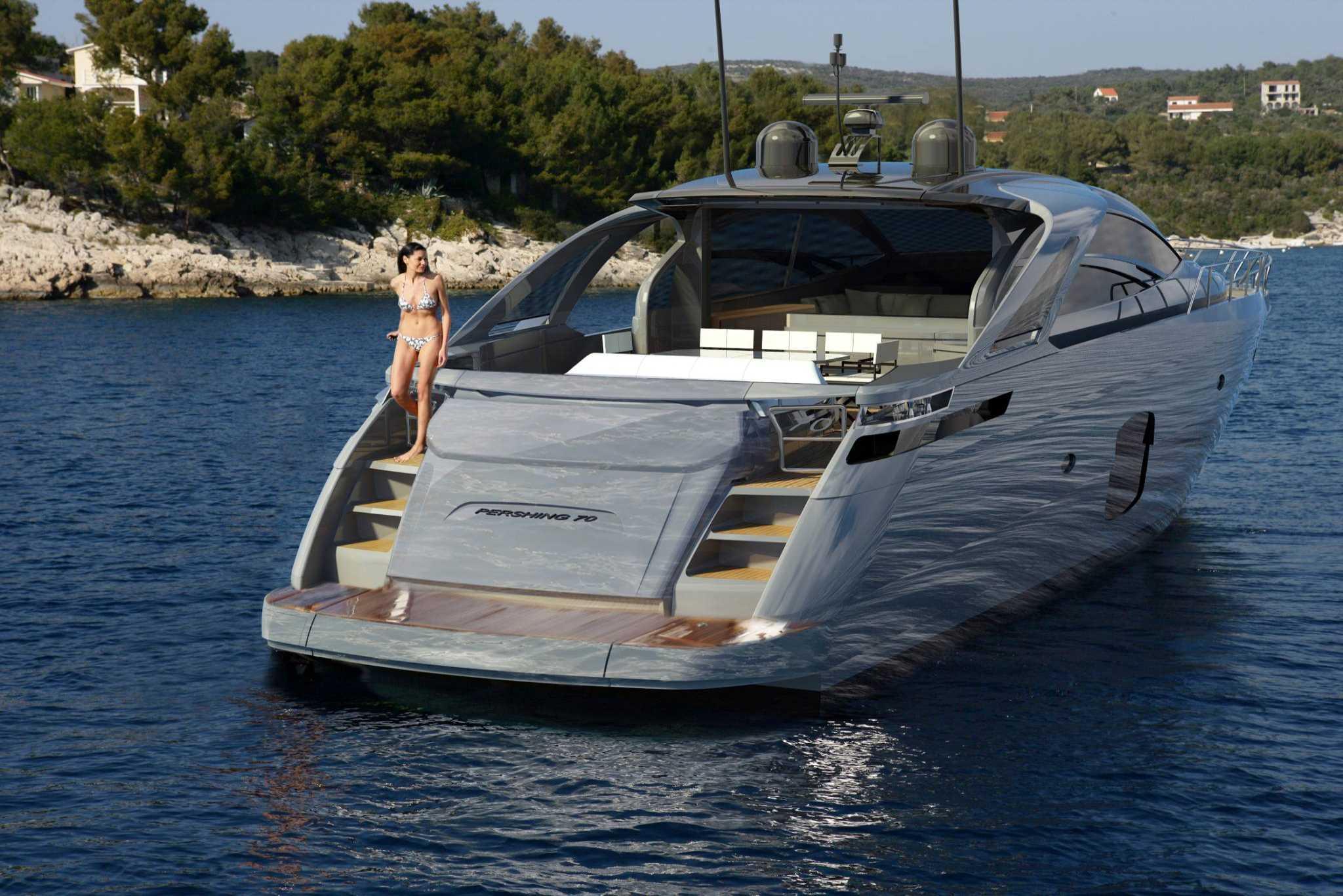 pershing 70 - ita yachts canada