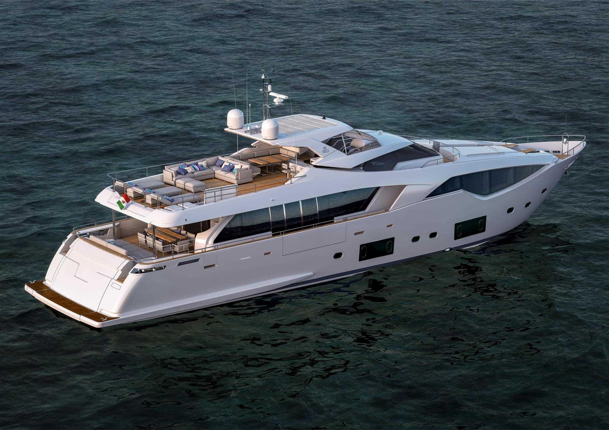 ferretti custom line 108 - ita yachts canada