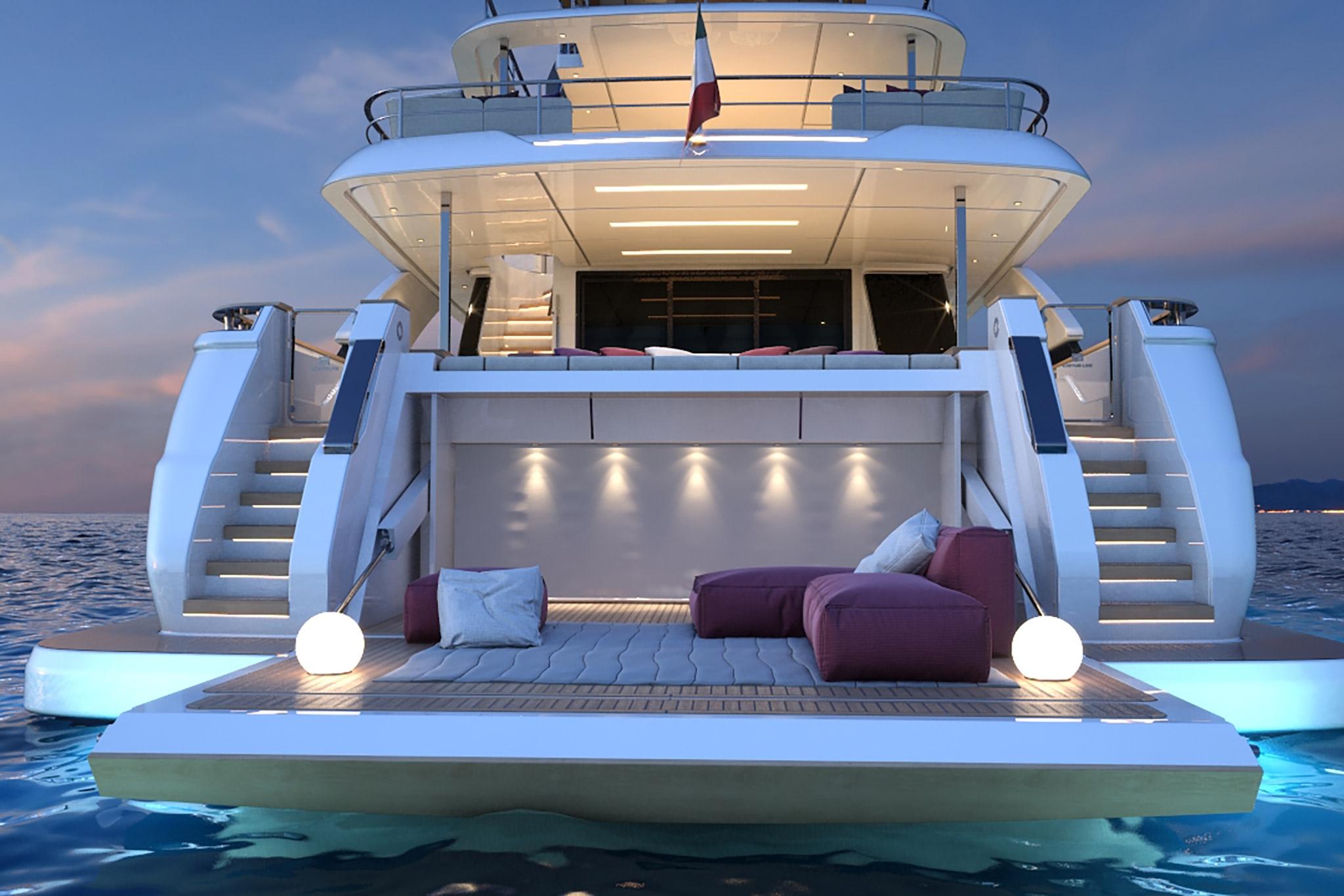 navetta 33m - ita yachts canada