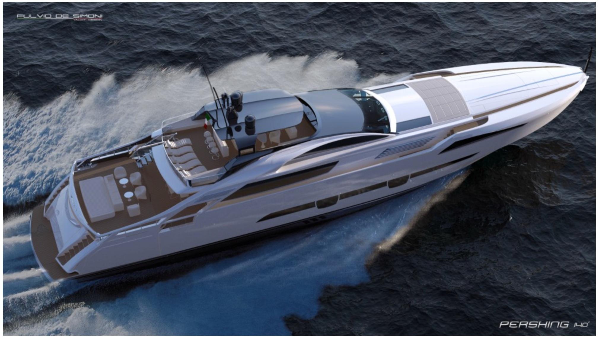 pershing  project ita yachts canada