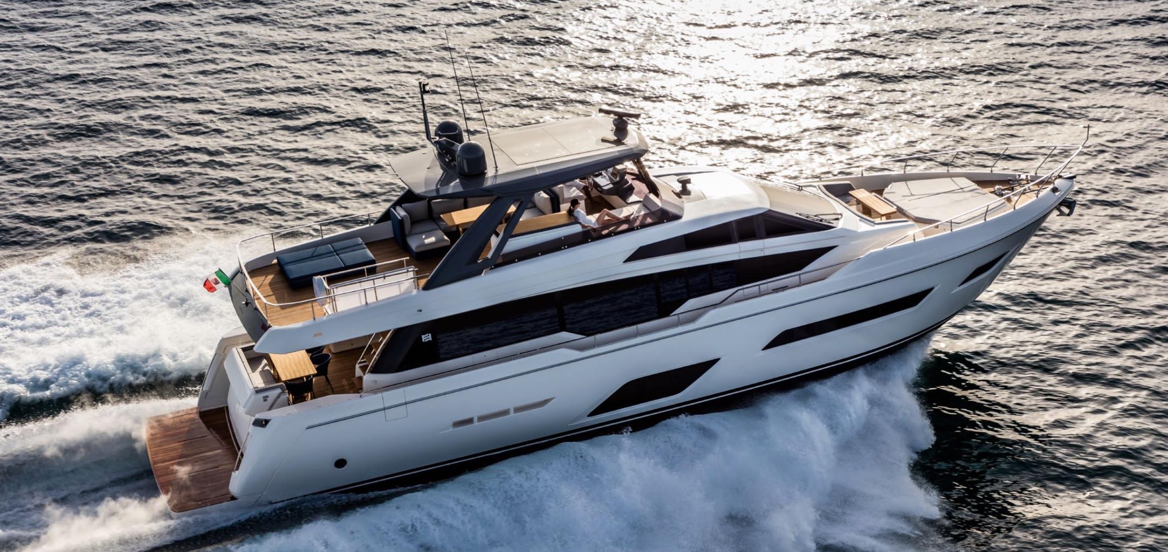new ferretti 780 - 2018 - ita yachts canada
