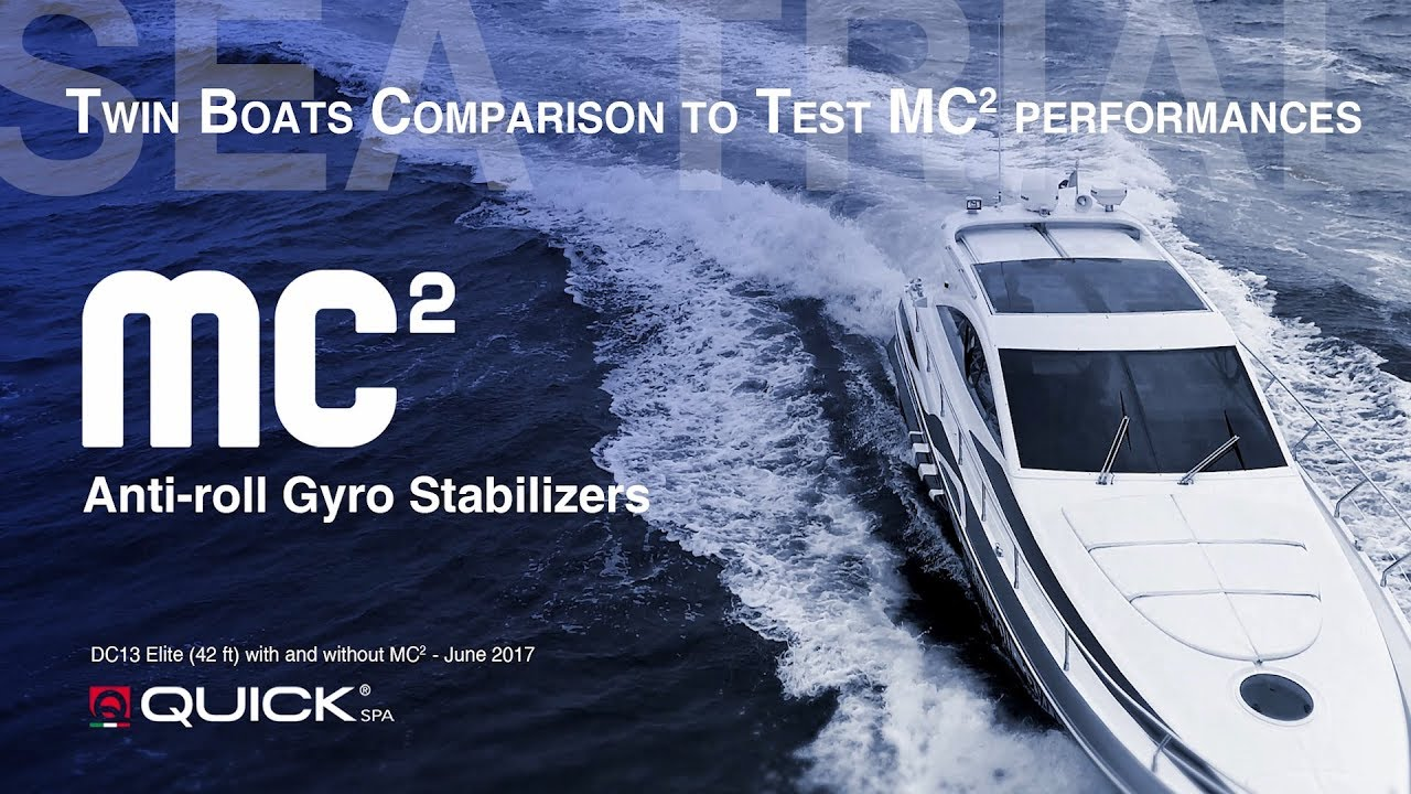 New Gyro Stabilization by the Italian company Quick | Ita Yachts Canada